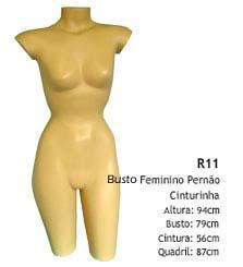 Manequim busto feminino R11