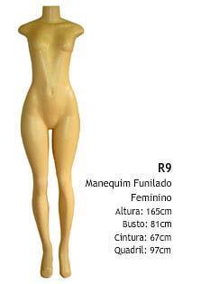 Manequim feminino corpo inteiro R9