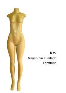 Manequim feminino corpo inteiro R79