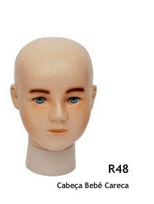Manequim infantil cabeça R48