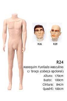 Manequim masculino corpo inteiro R24
