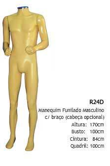 Manequim masculino corpo inteiro R24D