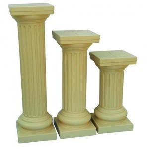 Coluna grega de plástico