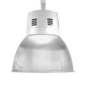 Luminária prismática industrial