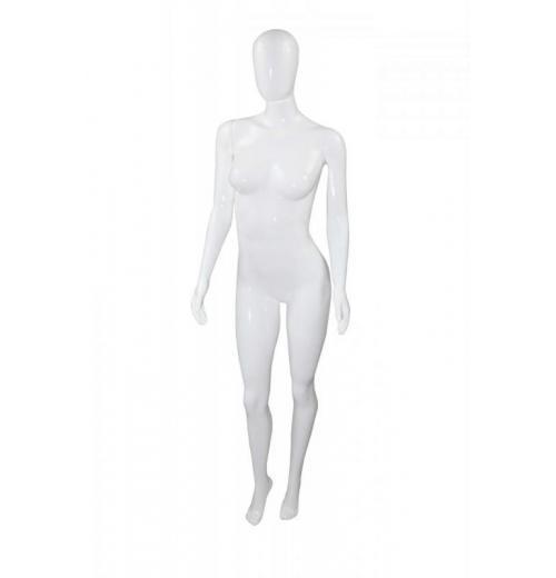Manequim Feminino Smart Fitness com pose braço reto.