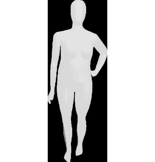 Manequim Feminino Smart Plus Size com pose braço cintura.