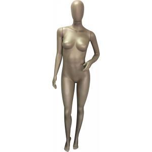 Manequim Feminina Fitness Savana com cabeça ovo braço cintura