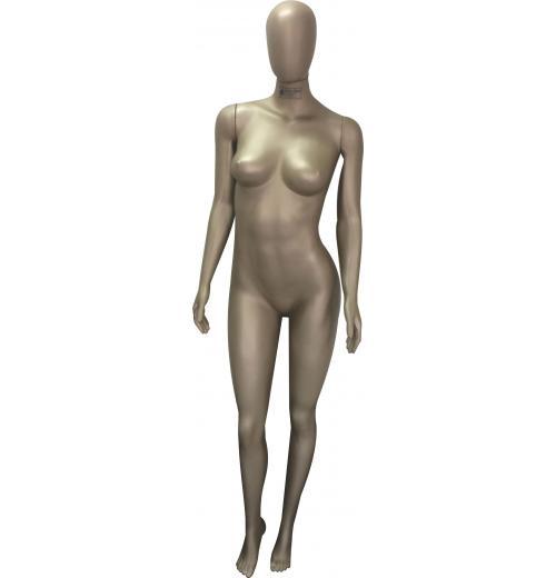 Manequim Feminina Fitness Savana com cabeça ovo braço reto