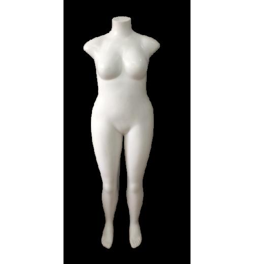 Manequim Feminina Funilado Plus Size